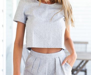 fashion, grey, and soft image