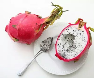 fruit, food, and pink image