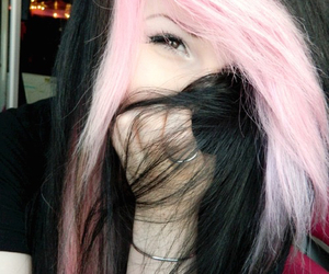 emo, girl, and grunge image