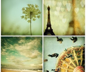 paris, vintage, and beach image