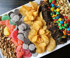 delicious, snacks, and food image