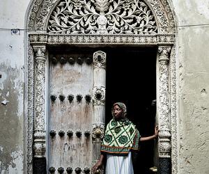African, door, and islam image