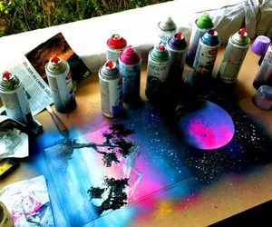 art, spray paint, and tumblr image