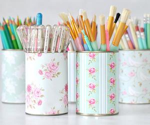 pen, diy, and pencil image
