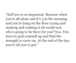 quotes, self love, and life image