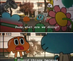 cartoon network, gumball watterson, and comedy image