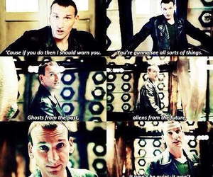 doctor who and ninth doctor image