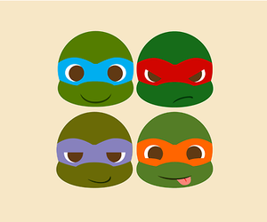 ninja turtles and cute image