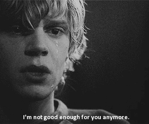 cry, vintage, and evan peters image