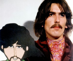 george harrison, the beatles, and yellow submarine image