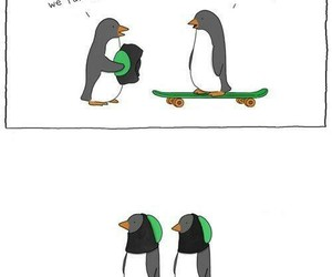 funny and penguin image