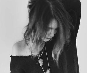 black and white, boho, and fashion image