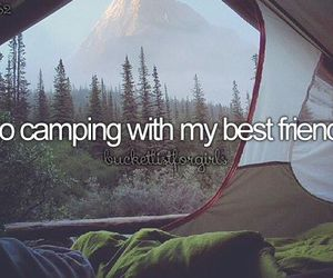 camping, friends, and Best image
