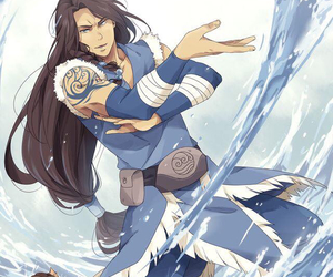 avatar, katara, and credit to artist image