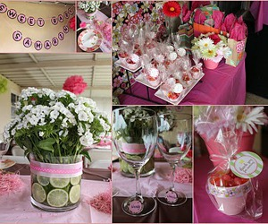 pink baby shower image