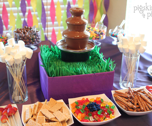 birthday party, food, and party image