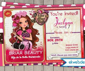 Birthday Party And Ever After High Image