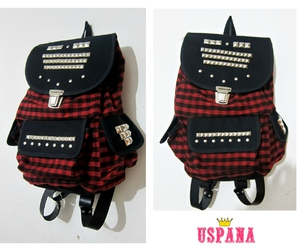backpack, bags, and punk image