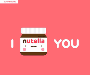 nutella, love, and ı nutella you image