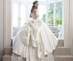beautiful, gowns, and bridal image