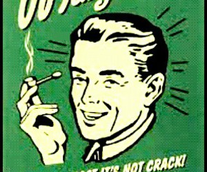 marijuana, weed, and crack image