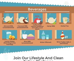 clean, eat, and exercise image