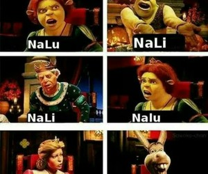 fairy tail, nalu, and funny image