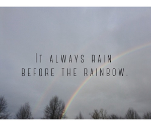 cloudy, motivation, and rain image