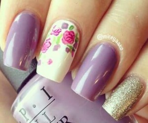 beauty, nail art, and nail lacquer image