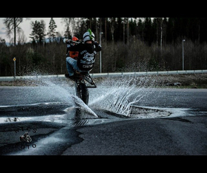 grate, motorbike, and ride image