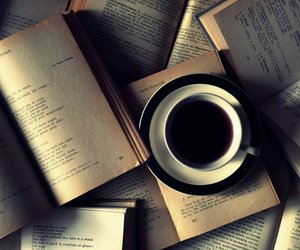 book and coffee image