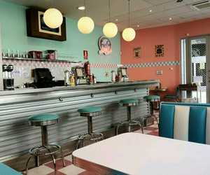 diner and retro image