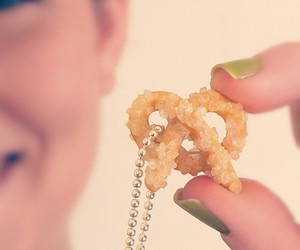 food, gold, and grunge image