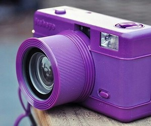 purple, camera, and violet image