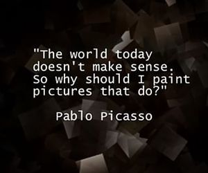art, black and white, and Pablo Picasso image