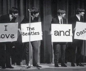 oasis and the beatles image
