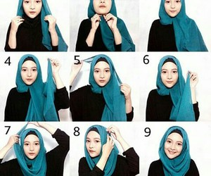 simple, hijabers, and daily hijab image