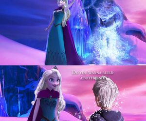 jack frost and jelsa image