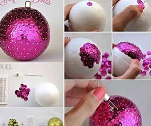 diy, christmas, and pink image