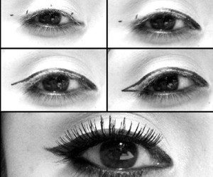 diy, eyes, and makeup image