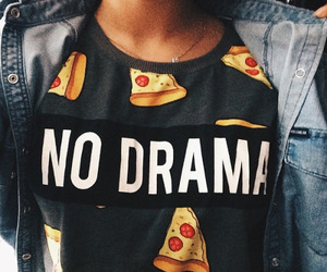 pizza, style, and no drama image