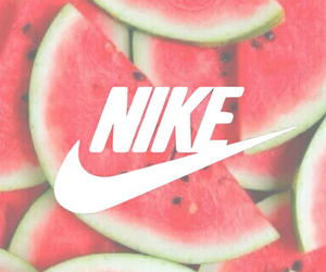green, nike, and melon image