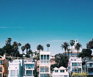 beach, house, and california image