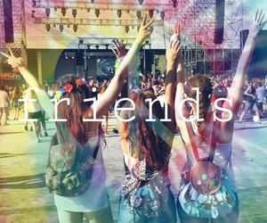 girls and friends image