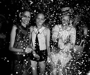 fashion, girls, and party image