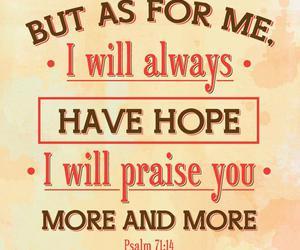 god, always, and hope image