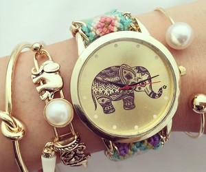 bracelet and elephant image