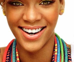 rihanna and smile image