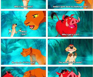 the lion king, disney, and funny image