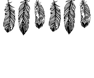 feather, background, and black image